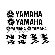 Large Yamaha Set Vinyl Decal Sticker