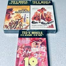 Lot Of 3 Ted V. Mikels VHS Movies 10 Violent Women Doll Squad Girl In Gold  Boots | eBay
