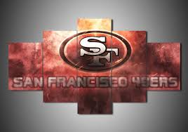 Order This San Francisco 49ers 1 Sport Full Hd Personalized Customized Canvas Art Wall Art Wall Decor Now