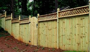 8 Ft Lattice Top Wood Privicy Fence Privacy Fence Panels Wood Fence Privacy Fences