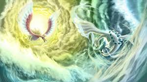 47 ho oh and lugia wallpaper on