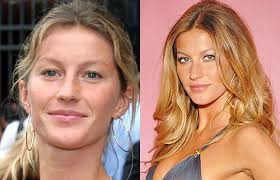 10 supermodels before and after makeup