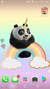 Panda Wallpapers Kawaii Cute Pandicorn For Android Apk