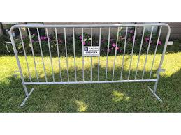 Temporary Fence Barricade Rental Pacific Portable Services