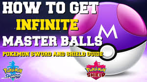 HOW TO GET INFINITE MASTER BALLS IN POKEMON SWORD AND SHIELD (HOW ...