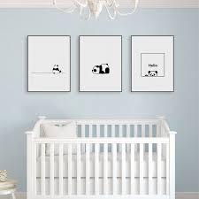 Little Star Dream Big Black White Prints Set Nursery Kids Unisex Room Wall Art A4 21x29 7cm Twinkle For Sale Online Ebay