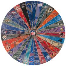 Nfl Team Logos Round Wood Wall Decor Hobby Lobby 1803519