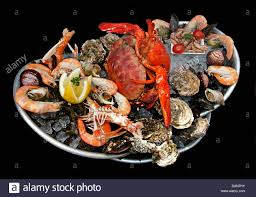 Fruits de mer French seafood Oysters ...