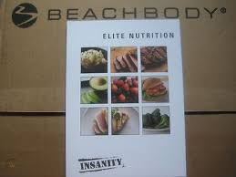 insanity elite nutrition guide 60 day