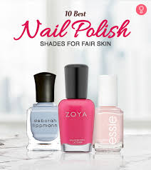 10 best nail polishes for fair skin