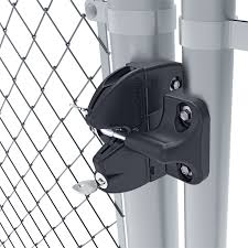 D D Technologies Lokk Latch Round Post Gravity Latch With External Access Kit Hoover Fence Co