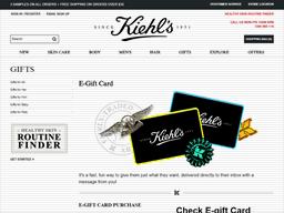 kiehl s gift card balance check