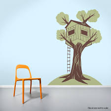 Tree House Wall Decal Sticker