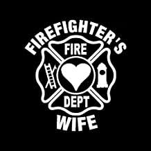 Amazon Com Fire Wife Car Decal