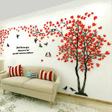 3 Wall Sticker 3d Decals Art Tile Picture Removable Modern Home Decor Mural For Sale Online Ebay