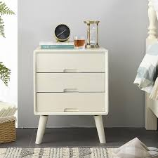 solid wood bedside table pine nordic