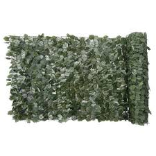 Naturae Decor 40 In X 96 In Faux Ivy Leaf Indoor Outdoor Privacy Roll Rld4096 1000 The Home Depot