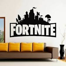 Fortnight Logo Wall Art Sticker Removable Decal Transfer X Large As10374 Ebay