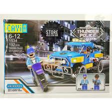 Lego CAYI-1534 Lắp Ráp Xe Jeep Cảnh Sát - Thunder Police ( 192 ...