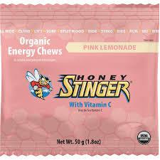 honey stinger organic energy chews 12