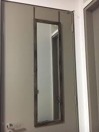 full length over the door mirror