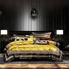 place faux silk luxury large jacquard