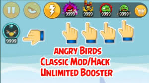 Angry Birds Classic Mod/Hack Unlimited Booster - YouTube