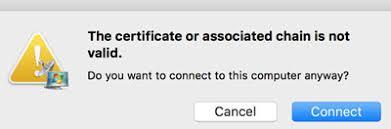 fix rdp the certificate or ociated