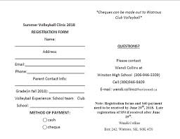 Town of Watrous - Summer Volleyball Clinic July 16,17 and... | Facebook