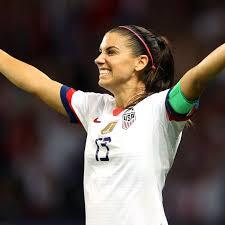 Birthday girl Alex Morgan scores game winner to lead USA to 2-1 semifinal  win over England - California Golden Blogs