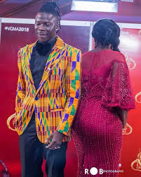 Photos: Stonebwoy And Wife, Louisa Voted The Best-Dressed Couple ...