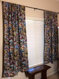 Pin By Briana Fishbein On Guest Room Marvel Room Superhero Bedroom Retro Curtains