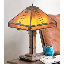 prairie table lamp arroyo craftsman