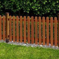 Rowlinson Picket Fence 3ft X 6ft One Garden