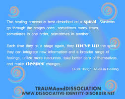 """quote by laura hough """"the healing process is best described as a"""