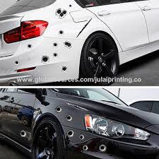 Chinacar Side Stickers Funny Decal Car Covers Accessories Decoration Sticker 3d Bullet Hole Car Styling On Global Sources