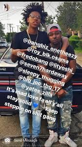 Lil Loaded Dallas Crip rapper and Yoshi ...
