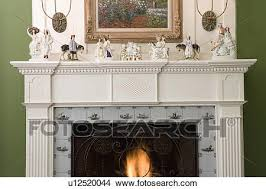 fireplaces straight on view of detail