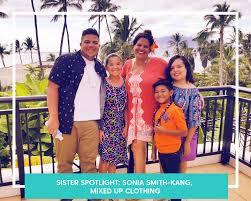 SISTER SPOTLIGHT: SONIA SMITH-KANG, MIXED UP CLOTHING — Super Mamas