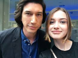 "Aaron Nagler on Twitter: ""My daughter meeting Adam Driver has made me  indescribably happy. I can't imagine how over the moon I would have been  meeting one of the @starwars cast when"
