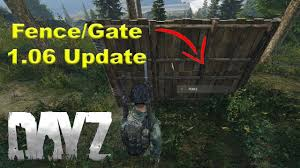 Dayz How To Build A Fence Gate 2020 Update Youtube