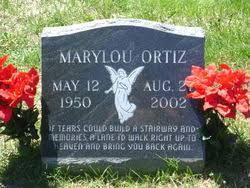 Marylou Smith Ortiz (1950-2002) - Find A Grave Memorial