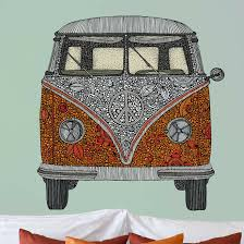 My Wonderful Walls The Van By Valentina Harper Wall Decal Wayfair