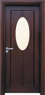 china solid wooden timber door with