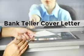 bank teller job cover letter examples
