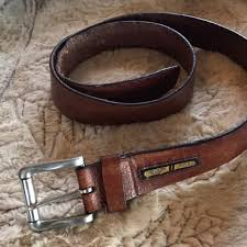 fossil accessories mens leather belt