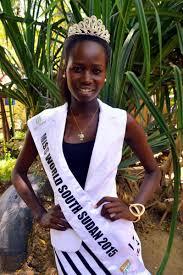 ملكة جمال جنوب السودان موظفة حكومية تكره القبلية صور إرم نيوز