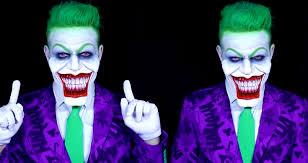 the coolest the joker make up tutorials