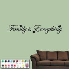 Family Is Everything Wall Sticker Vinyl Art Quote Decal Bedroom Words Love Ebay