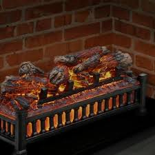 20 in electric fireplace logs for
